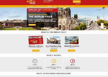 Sparen mit Gutscheinen beim Kauf des Berlin Passes