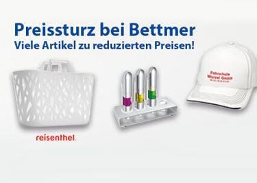 Produkte von Bettmer werden mit einem Gutschein besonders günstig