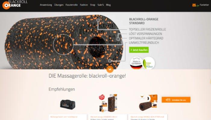 Hier könnt ihr eure Gutscheine für blackroll-orange nutzen