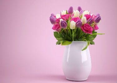 Viel Spaß mit Blumen