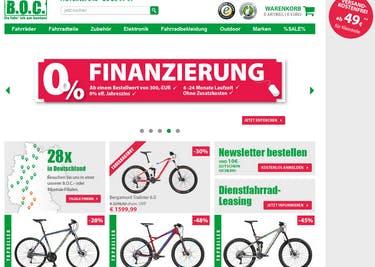 Mit einem Boc24.de-Gutschein bestellst du Fahrräder, Fahrradbekleidung und -zubehör zum Preisvorteil