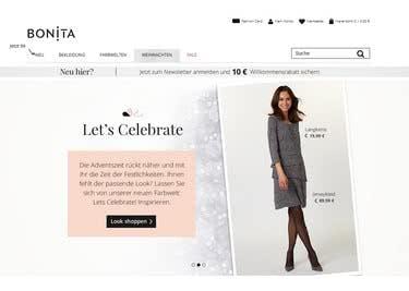 Shoppe die Modekollektionen mit einem Bonita-Gutscheincode zum Vorteilspreis
