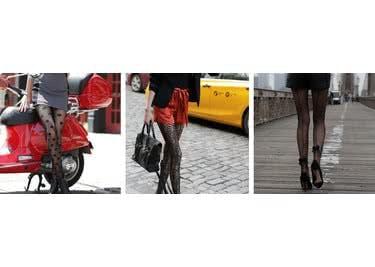 Strümpfe, Socken, Leggings und sogar Bikinins findest du im Onlineshop von Calzedonia