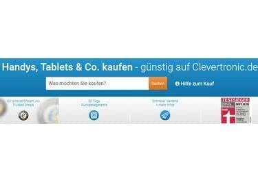 Bei Clevertronic kaufst du günstige und einwandfreie Gebrauchtware.