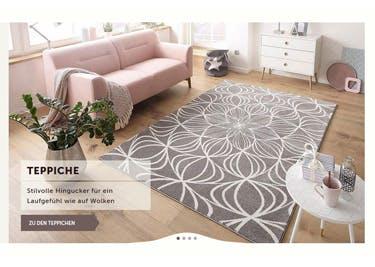 Teppiche und Co. werden mit einem Cnouch-Gutschein besonders günstig