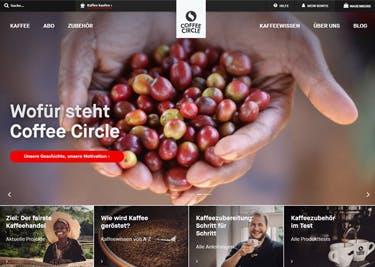 Die ganze Kaffee-Vielfalt: im Onlineshop von Coffee Circle