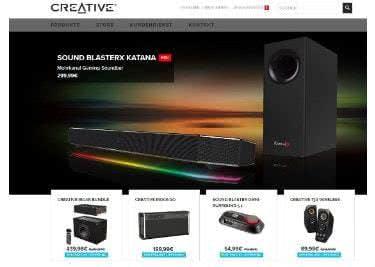 Bei Creative shoppt ihr den perfekten Sound für eure heimischen 4 Wände