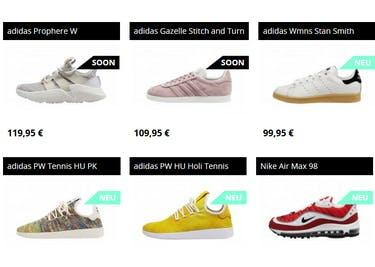 Deine neuen Sneaker warten schon auf dich!