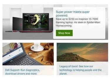 Bei Dell gibt es viel zu entdecken und für jeden gibt es den passenden Laptop