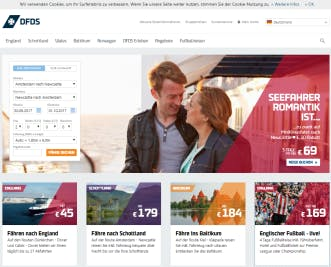 DFDS Seaways Homepage