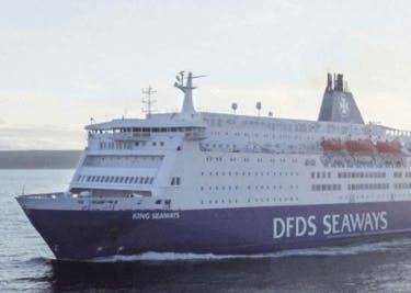DFDS Schiff