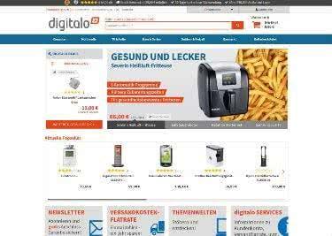 Die Website von Digitalo