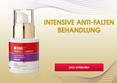 Gutscheine nutzen für Produkte von DMC Cosmetics