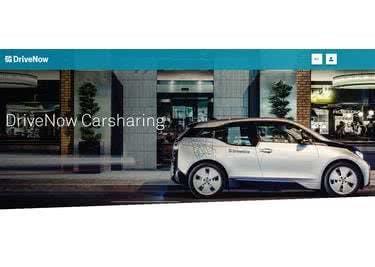 DriveNow Startseite