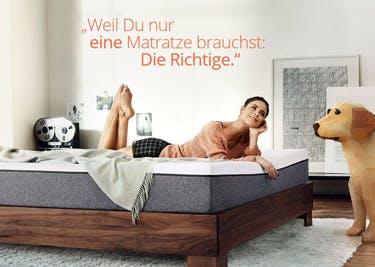 Emma Matratze: 100 Tage probeschlafen