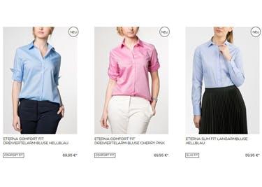 Bürotaugliche Mode für Damen bei Eterna