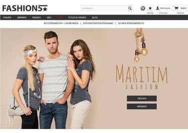 Bei Fashion 5 findest du deinen individuellen und stylischen Look