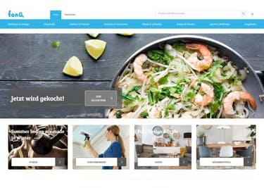 Spannende Infos und Produkte rund ums Kochen bei fonQ auf der Startseite