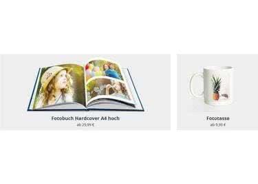 Fotobücher, Fototassen und mehr gibts bei Fotokasten
