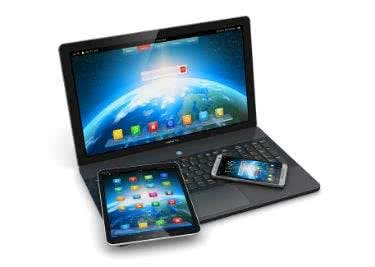 Die Programme sind mit allen Geräten nutzbar.