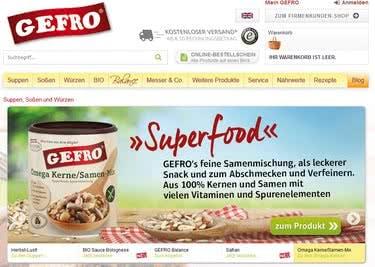 Tisch' dir was Gesundes auf und spare bei deiner Bestellung im Gefro-Onlineshop mit einem Gutschein