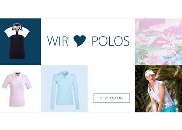 Polos und Co. werden dank eines Gutscheins von GOLFINO günstiger