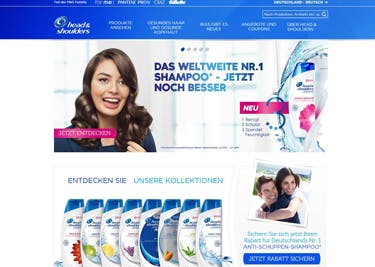 Shoppen und sparen: Produkte von Head and Shoulders