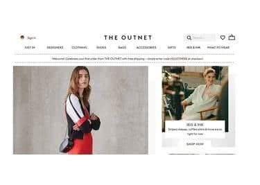 THE OUTNET entdecken - aktuelle Mode-Trends auf der Startseite