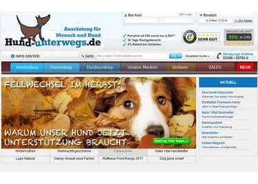 Hol' dir bei SPARWELT deinen Gutschein für Hund-unterwegs.de und freue dich über Preisnachläss