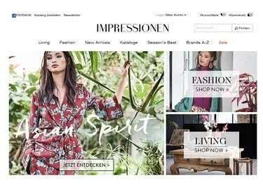 Mode und Wohnen online finden