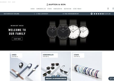Kapten & Son: Uhren und Schmuck in liebevollem Design