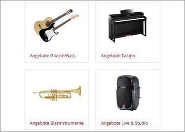 musikhaus-Kirstein bietet ein breites Sortiment für Musiker
