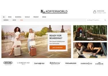 Mit einem Kofferworld-Gutschein bestellst du Reisetaschen, Schulränze, Business-Bags und vieles mehr zum Sparpreis