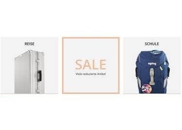 Hol' dir einen Kofferworld-Gutschein von SPARWELT und sieh dich auch im Sale-Bereich um