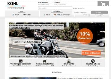 Startseite von KOHL Automobile