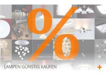Sicher dir einen Gutscheincode für lampenonline.de und statte dem Sale-Bereich einen Besuch ab