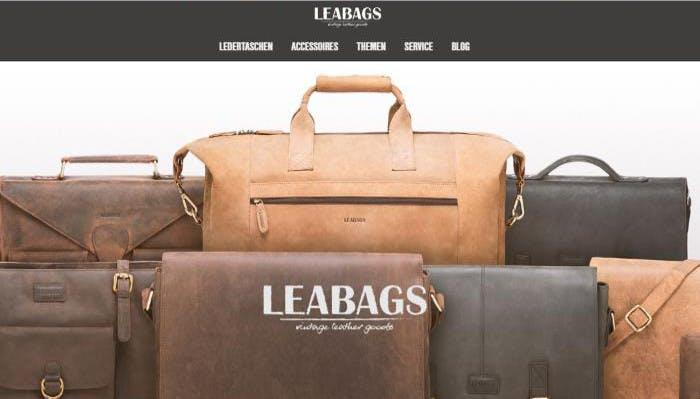 LEABAGS-Startseite