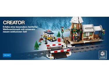 Sicher' dir einen LEGO-Shop-Gutscheincode und freue dich, im Onlineshop zu sparen