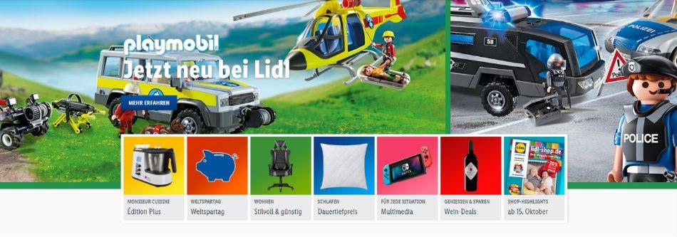 Bei Lidl online vergünstigt einkaufen