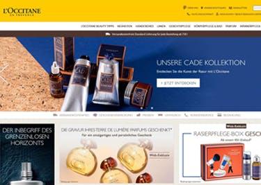 Vielfältige Produktauswahl bei L'Occitane