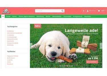 Alles für euer Haustier findet ihr bei Lucky-Pet