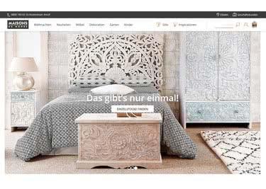 Finde bei Maisons du Monde elegante Möbel und inspirierende Deko-Ideen