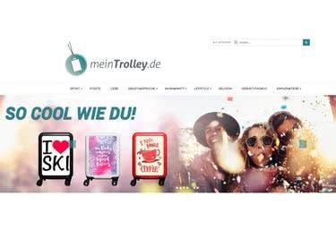 Designe deinen eigenen Trolley und spare anschließend mit einem meinTrolley.de-Gutschein