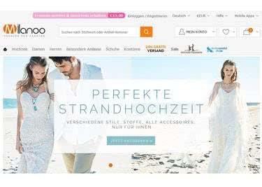 Milanoo.com Startseite