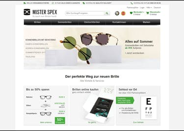 Mister Spex ist dein günstiger Optiker im Internet