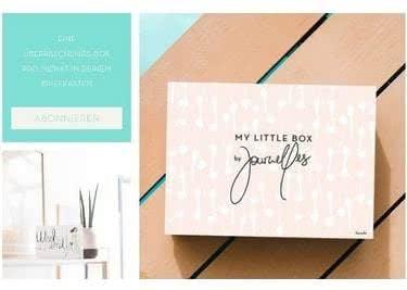 In Kooperation mit dem Blog Journelles gab es in Vergangenheit eine exklusive My Little Box