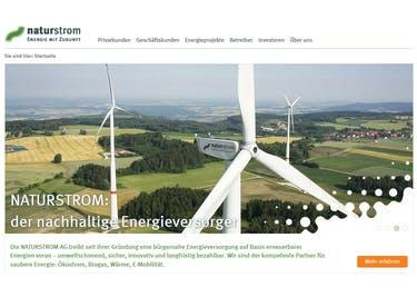 Werde Kunde bei NaturStrom und beziehe Öko-Strom und -Gas