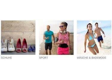 Rabatte auf Schuhe, Sportartikel und vieles mehr