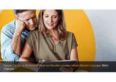 Informiere dich, wie du die Software von Norton günstiger auf deinen Pc, Laptop oder Smartphone laden kannst