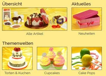 Cupcakes und Torten preiswert dekorieren
